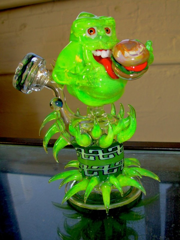 Ghostbusters Slimer Bubbler Weedist