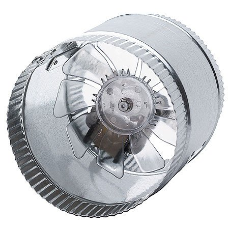 Grow Room Equipment - 6-Inch 110VAC 250 CFM In-Line Duct Fan