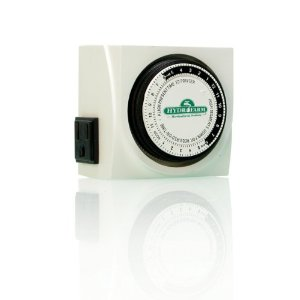 Grow Room Equipment - Hydrofarm TM01015D Dual Outlet Grounded Timer