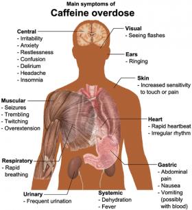 caffeine overdose – citybeauty, Skeleton