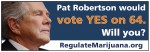 Marijuana billboard for Amendment 64 Touts Pat Robertson Endorsement