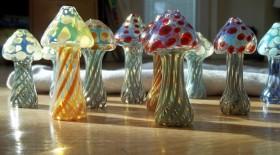 Piece of the Week | Custom Glass Mushroom Chillum