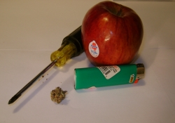 Piece of the Week | How to Make an Apple Marijuana Pipe