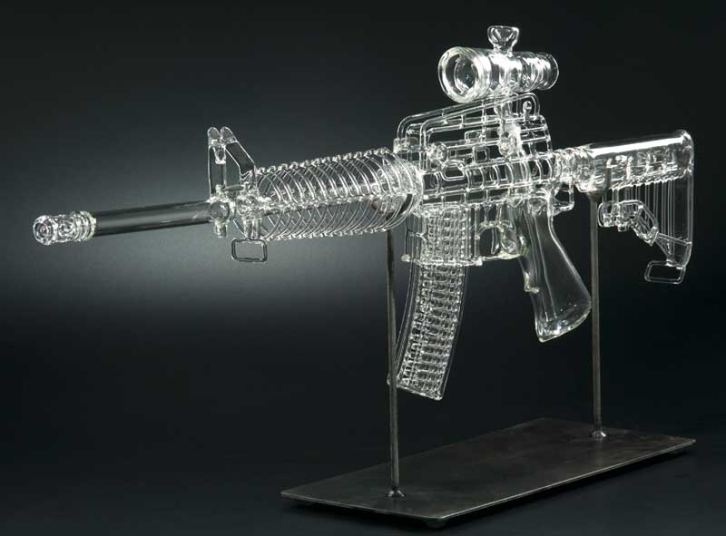Piece of the Week | Mickelson Studios AR-15 Bong