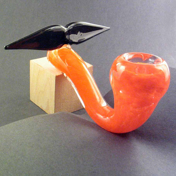 Piece of the Week | Mustache Sherlock Glass Pipe