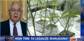 CNN Video, Rep Barney Frank: Marijuana Law a 'Great Hypocrisy'