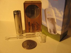 Vaporizing Medical Marijuana in a Magic-Flight Launch Box (Video)