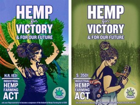 Vote Hemp Offering Two Great Posters for Donating 25 Dollars