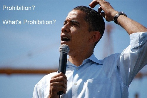 At the DNC Convention: Prohibition? What's Prohibition?