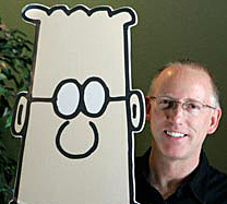 Dilbert Cartoonist Rips Obama Over Medical Marijuana