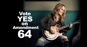 Melissa Etheridge Endorses Amendment 64 to Regulate Marijuana Like Alcohol