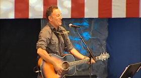 Bruce Springsteen Works 'Marijuana' Into Obama Campaign Song