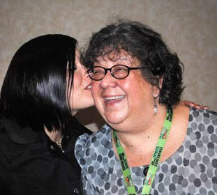 Diane and Anna at the NORML Conference in Denver 2011