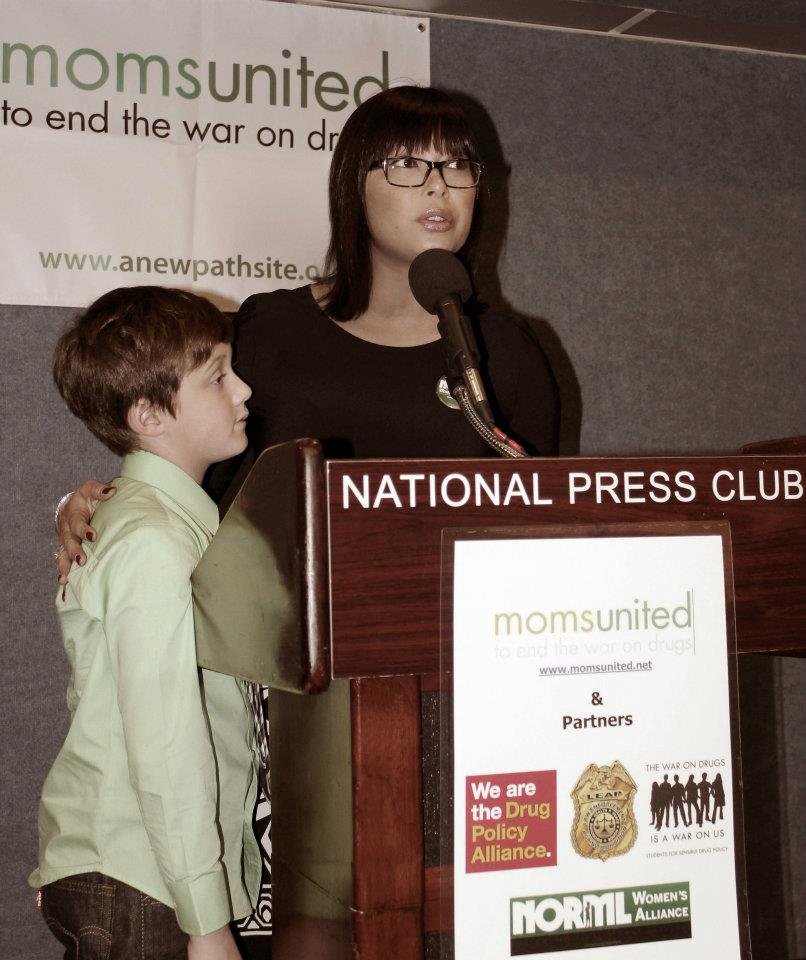 National Press Club, Washington DC Spring 2012 - Photo: Sabrina Fendrick/NORML Women's Alliance