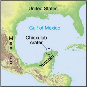 End of the Mesozoic, Source: http://saturniancosmology.org/files/impact/Sect18_4_files/Chicxulub.jpg