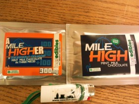 Edibles Review: Mile High and A Mile Higher from Incredibles