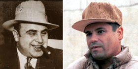 prohibition-Al Capone-Joaquin Guzman, Source: http://blog.mpp.org/prohibition/prohibition-in-chicago-different-day-same-story/02152013/