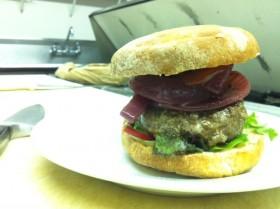 Great Edibles Recipes: Gorgonzola Stuffed Lamb Burger