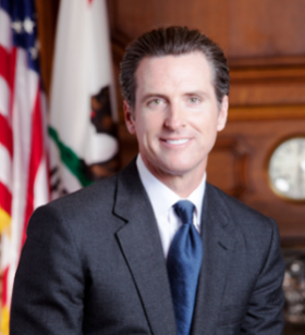 California Lt. Governor Gavin Newsom Calls for Legalizing Marijuana