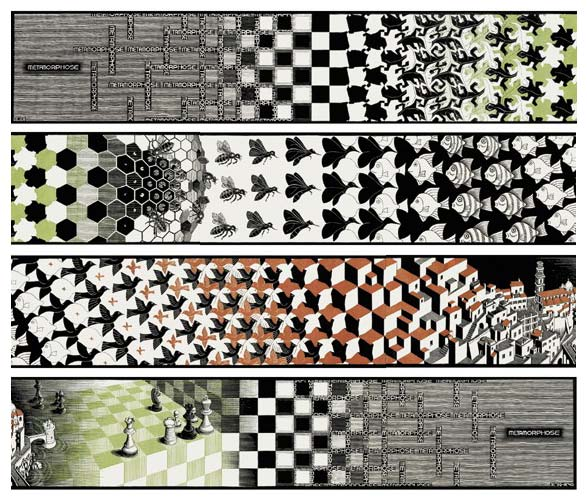 Escher,_Metamorphosis_II