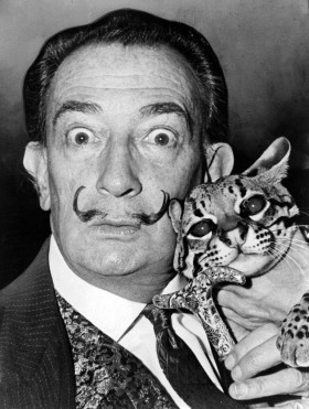Great Artwork While High: Salvador Dali