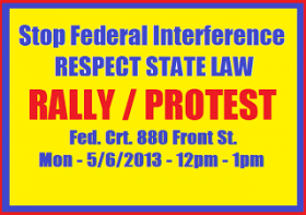 San Diego Rally Against Federal Interference: May 6th