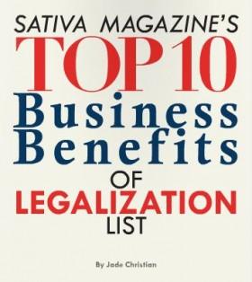 Top Ten Business Benefits of Legalization
