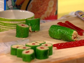 Great Edibles Recipes: Candy Sushi
