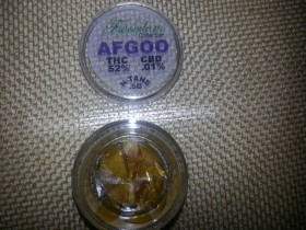 My Favorite Strains: Afgoo Shatter BHO (Dabs)