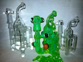 Piece of the Week | E Bomb Glass Recycler Pendant