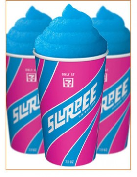 Free Slurpee Day at 711 for 711