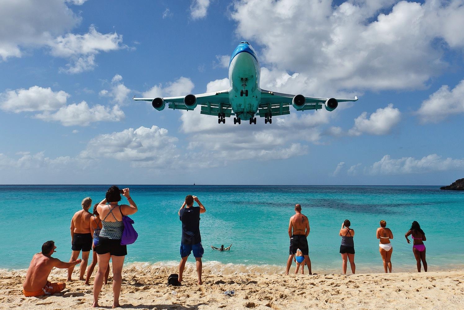 St. Maarten Airplane