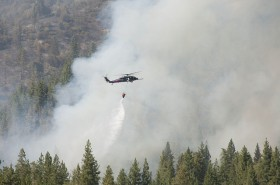 Someone Is Trying To Blame the Yosemite Fire On Marijuana