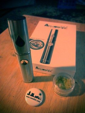 Portable Vaporizer Pen Review: Atmos Thermo W