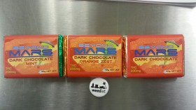 Edibles Review: Beyond Mars Dark Chocolate