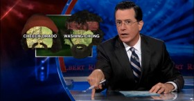 "Colbert Report on Marijuana Legalization Re-Names States ""Cheech-orado"" and ""Washing-Chong"""