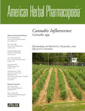 AHP Monograph - Cannabis Inflorescence - Botanical Medicine, Source: http://www.herbal-ahp.org/index.html