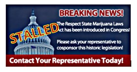 HR 1523, Respect State Marijuana Laws Act: Stalled Without Support