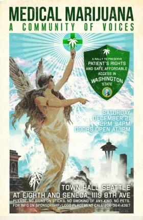 Medical Marijuana: A Community of Voices – WA Event 12/21/13