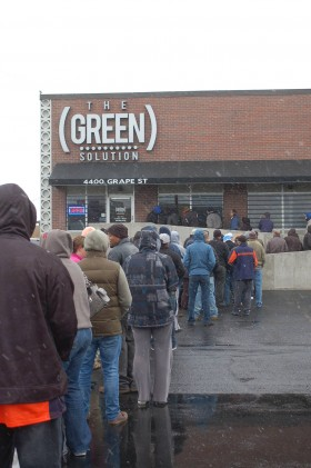 Tip for Buying Legal Weed in Colorado: It's Retail, Long Lines Will Happen During Peak Hours