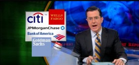 Colbert Report Tackles Ganjapreneurs, Green Rush and Bank Hypocrisy