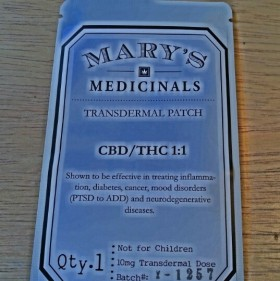 Product Review: Mary's Medicinals Transdermal Patch