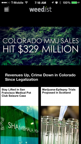 Apple App Store Selectively Targets Some Weed Apps