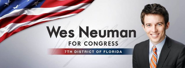 NORML PAC Endorses Wes Neuman for Congress in Florida 7th District, Source: https://fbcdn-sphotos-a-a.akamaihd.net/hphotos-ak-ash3/t31.0-8/c3.0.851.315/p851x315/1980353_628748287197666_2022836335_o.jpg