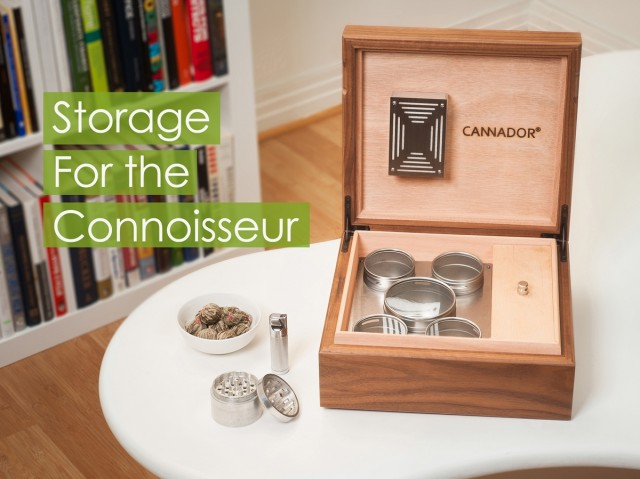 Product Review: Cannador - The Cannabis Humidor - Weedist, Source: http://cannador.com/