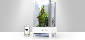 The World's First Greenhouse That Connects to Your Phone
