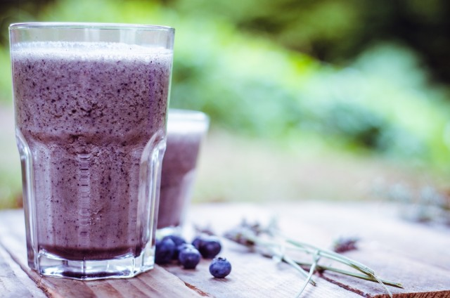 Great Edibles Recipe: Blueberry Smoothie