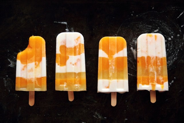 Great Edibles Recipes: Coconut Mango Pot-Popsicles