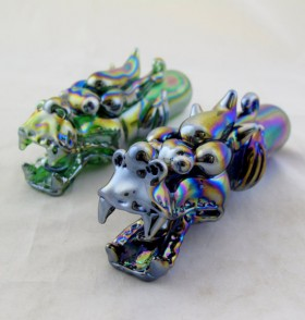 Piece of the Week | Iridescent Tribal Dragon