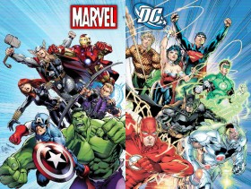 Five Strains for Marvel & D.C. Fans